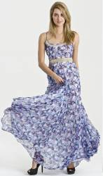 Cheap long summer floral dress