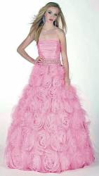 Gorgeous Alyce Designs pink prom dress