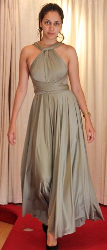 Infinity dress available at WiW