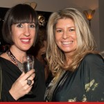 Clary Fisher, stylist and Katherine Tanswell, proprietor of Walk in Wardrobe