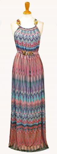 3_Missoni Print maxi with belt F