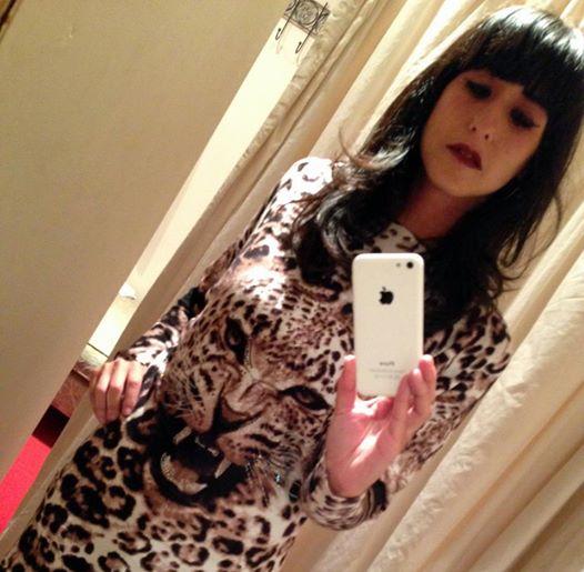 AW14 leopard print jumper