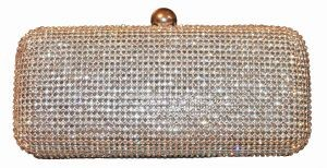 Sparkly box bag