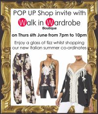 contact us to come along to our next pop up shop