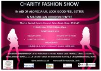 Get tickets for our next fashion show