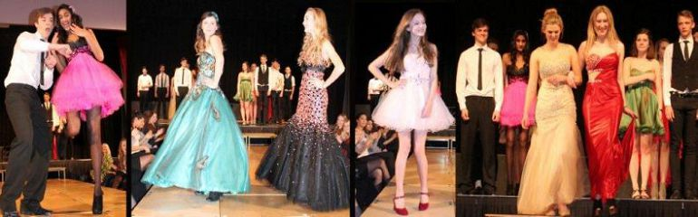 Brighton and Hove High School for Girls put on a fashion show for Charity 19 march 2013