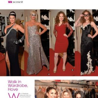 Our annual Christmas fashion show in the boutique is featured in ETC magazine. Sign up for our newsletter to receive your invite