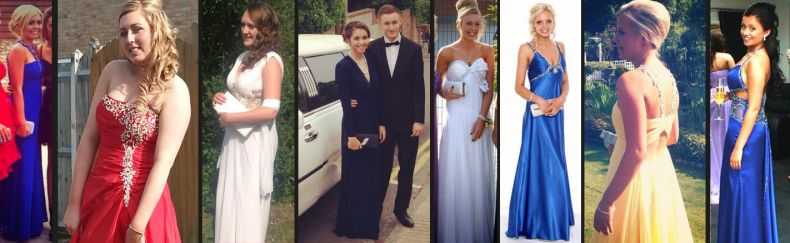 Prom girls in our dresses 2013