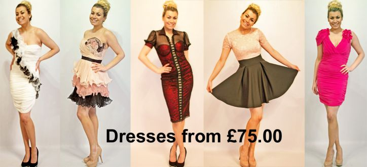"See our ""ladies day"" dresses and ""short prom"" dresses"
