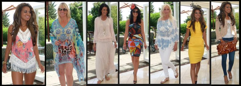 Summer fashion show for Well Being charity in Hove. June 2015