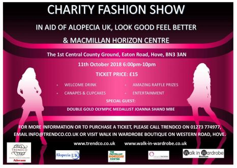 Get your tickets in the boutique for the next fashion show