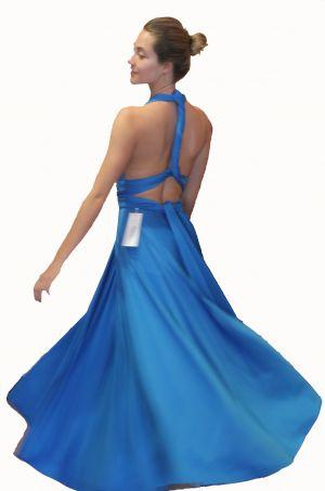 Twist dress at WiW