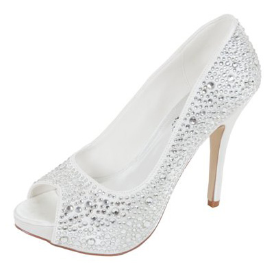 Sparkly Bridal Shoes Low Heel 2015 Flats Wedges PIcs In Pakistan Mid Ivory Photos