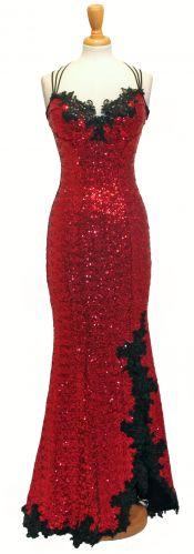 fe6cd29c Bella navy sequin corset mermaid dress